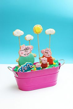 Peppa Pig & family