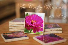 Natural Travertine Photo Coasters Featuring Susan Gober Nature Photography - pinned by pin4etsy.com