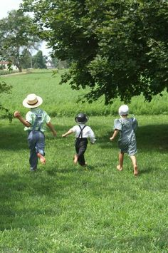 Amish children playing - Google Search
