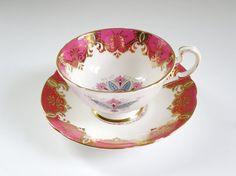 Vintage Paragon Pink Fine Bone China Tea Cup by SwirlingOrange11