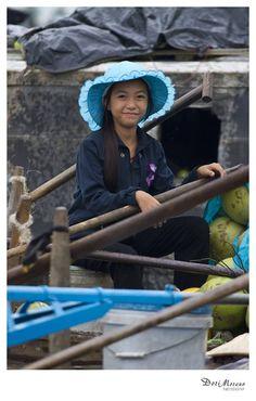 Floating markets, Mekong Delta, Vietnam  www.dorimoreno.com Mekong Delta, Vietnam, Beautiful People, Hats, Fashion, Moda, Hat, Fashion Styles, Fashion Illustrations
