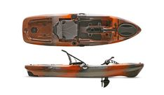 "The Native Watercraft ""Slayer Propel 10"" fishing kayak is the newest, smallest, and lightest member of the Slayer Propel family. The Slayer Propel"