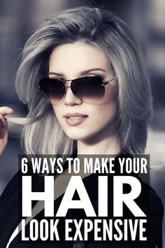 How to Look Expensive on a Budget: 18 Tips Every Girl Needs - - Want to know how to look expensive on a budget? We're sharing 18 simple fashion tips and hair and makeup hacks to make you look rich and classy for cheap! Medium Hair Styles, Curly Hair Styles, Medium Fine Hair, New Hair, Your Hair, How To Look Expensive, How To Look Rich, How To Look Better, Hair Trim