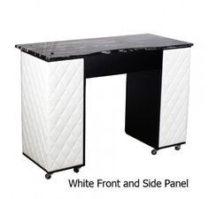 Salon Furniture: Deco Le Beau Aussi (B) Manicure Table — Black