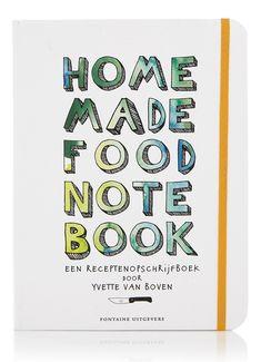 Home made food note book • de Bijenkorf