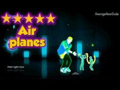 just dance 3 airplanes 5 stars - Just Dance 3 Halloween