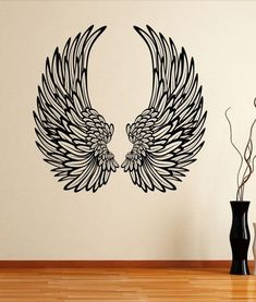 Decorative Angel Wings Wall Sticker Decal b is part of Angel wall art - Creative Wall Painting, Wall Painting Decor, Wings Drawing, Wall Drawing, Graffiti Wall Art, Mural Wall Art, Angel Wings Wall Decor, Wing Wall, Tatoo Art