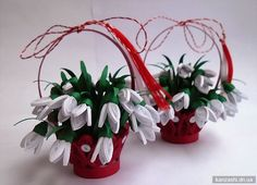 Craft Ideas Spring: inspiring suggestions for young and old - Hair Beauty - Food and Drink - Christmas - DIY and Crafts - Home Decor 3d Quilling, How To Do Quilling, Origami And Quilling, Quilling Tutorial, Quilling Paper Craft, Quilling Flowers, Quilling Cards, Paper Crafts, Bead Crafts