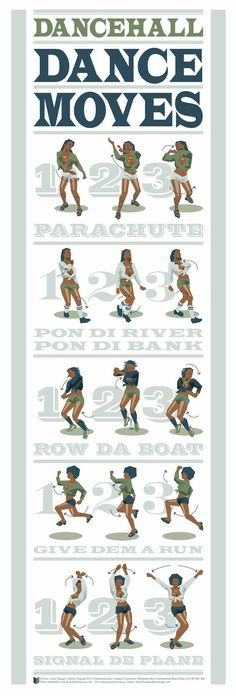 Dancehall Made EZ 15 Infographics That Will Make You A Great Dancer Dancehall Reggae, Reggae Music, Dance Music, Reggae Art, Modern Dance, Monty Python, Tango, Hip Hop Dance Moves, Street Dance Moves