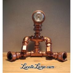 Lampe Robot Pipe industrielle Led