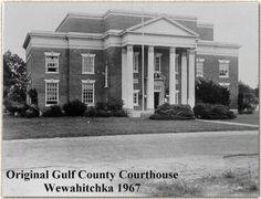 Gulf County Courthouse, Wewahitchka, Florida 1967