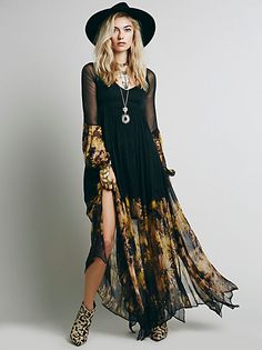 Intimately After Hours Lace Maxi at Free People Clothing Boutique