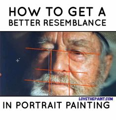 How To Get A Better Likeness in Portrait Painting - Love The PaintYou can find Portrait paintings and more on our website.How To Get A Better Likeness . Acrylic Portrait Painting, Oil Painting Tips, Acrylic Painting Techniques, Watercolor Portraits, Portrait Art, Portrait Paintings, Indian Paintings, Watercolor Portrait Tutorial, Abstract Paintings
