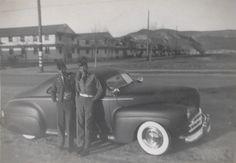 JL's Pals '41 Ford - Camp Roberts 1951