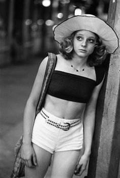 Iris « Easy » Steensma (played my Jodie Foster) in Taxi Driver. 1976