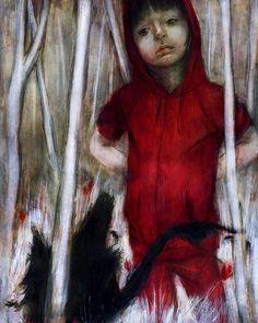wunderschöne Illutrationen von Beatriz-Martin-Vidal-rotkaeppchen6