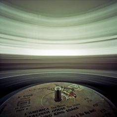 Record player pinhole