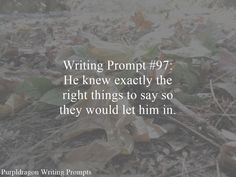 Writing Prompt 97