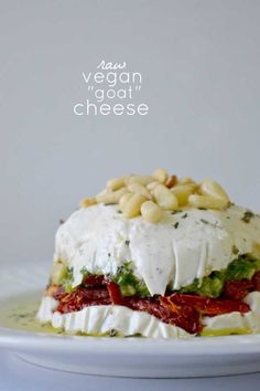 All of these - using cashew cream.  Desserts, cheeses, sauces. (Vegan)