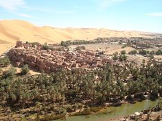 Saharan oasis town of Taghit