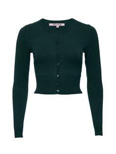 Maggie Long Sleeve Cardi | Pine Green | Knitwear Review Fashion, Women's Fashion, Fashion Outfits, We Wear, How To Wear, Winter 2017, My Wardrobe, Venus, Knits