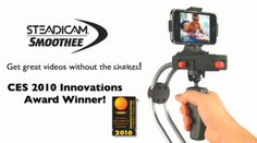 Tiffen Smoothee brings Steadicam to the iPhonethis could fix many people's videos