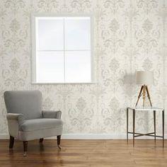Josette White Wallpaper