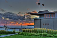 Fontana Boathouse - Frank Lloyd Wright