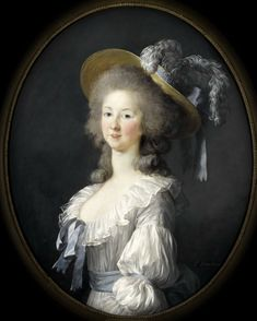 The Athenaeum - Portrait of Princess De Lamballe (Élisabeth Vigée-Lebrun - )