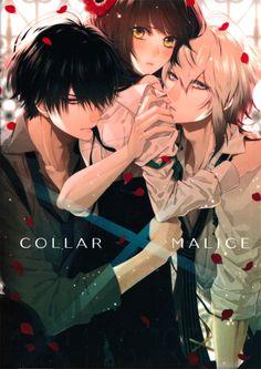 Hoshino_Ichika Kei_Okazaki Aiji_Yanagi【Collar×Malice】
