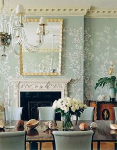 Classic Wall Treatments and Decorations – Paint, Gold Leaf, Wallpaper, Murals, Photography » Classical Addiction Beaux Artes Blog
