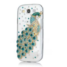 Bling 3D Peacock Case Cover for Samsung Galaxy S3 III I9300,3D Case-in Phone Bags  Cases from Phones  Telecommunications on Aliexpress.com $9.99