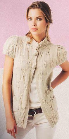 Блузки с къс ръкав - Perunika Knitting - Álbumes web de Picasa