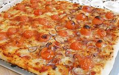 Pizza facile senza impasto ricetta gustosa