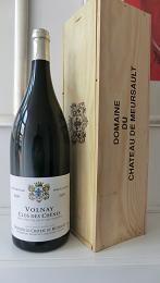 Volnay Clos Des Chenes 2009 1er Cru 1 double magnum ( 3,0 l ) 13,8 % Domaine Du Chateau De Meursault Bourgogne, France http://auction.catawiki.com/kavels/432451-volnay-clos-des-chenes-2009-1er-cru-1-double-magnum-3-0-l-13-8-vol