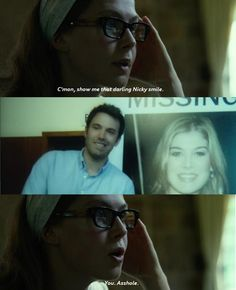 Gone Girl (2014) Rosamnd Pike as Amy Elliot Dunne