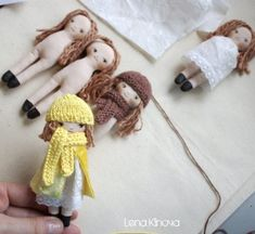 How to make a little doll with his own hands