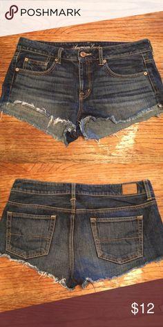 American Eagle cut off shorts!!! American Eagle cut off demin shorts. Super cute and perfect for summer Shorts Jean Shorts