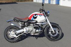 Hornig-Umbau BMW R 1100 GS Scrambler.