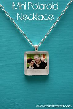 I wonder if I could pull this off.  Always wanted a mini picture of O around my neck, but can't find just the right one.
