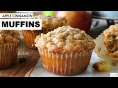 Apple Crumble Muffins - The Anthony Kitchen Apple Crumble Muffins, Apple Cinnamon Muffins, Apple Cobbler, Cinnamon Apples, Muffin Recipes, Apple Recipes, Homemade Muffins, Crumble Topping, Fresh Apples
