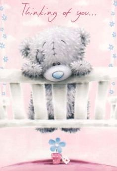 Tatty teddy Thinking of you ❤