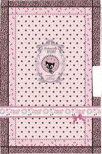 Mademoiselle de Luxe, Tagebuch mit Hängeschloß, 180 Seiten, liniert, 17x11cm