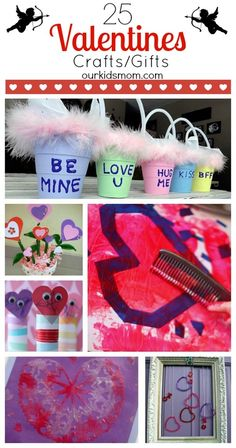 25 Valentines Day Crafts and Gifts