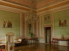 Pompeiian style salon, Villa Pisani, Italy