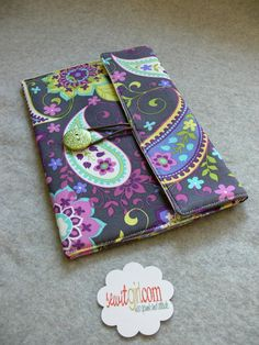 Kindle Touch, Gadget Case, Pouch, Bag... Fold over style with button closure. READY to SHIP $24