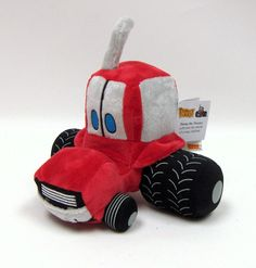 Timmy Tractors Plush Toy Tractor