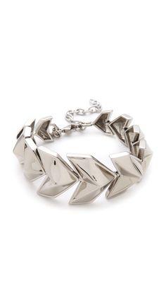 Rebecca Minkoff Heart Bracelet. $98