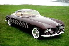Ghia's boss, Luigi Segre, teamed with American automakers to create several concept and one-off vehicles, including the Cadillac Ghia and the Chrysler Ghia Special.