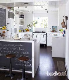 Add a Blackboard #kitchenislands